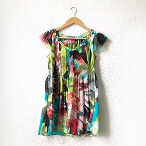 Sunny Leigh | Multicolor Fit & Flare Blouse S
